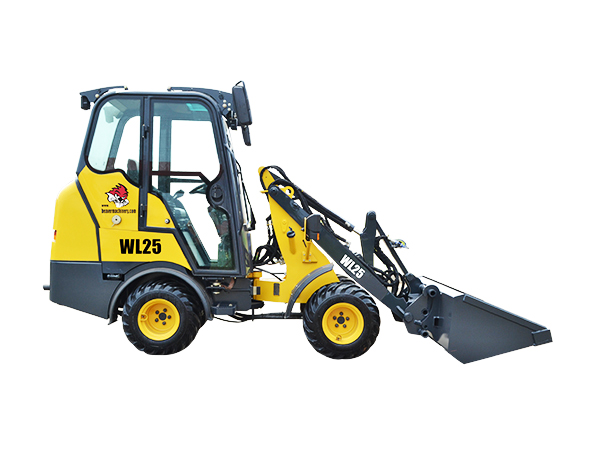 Articulated Mini Wheel Loader WL25
