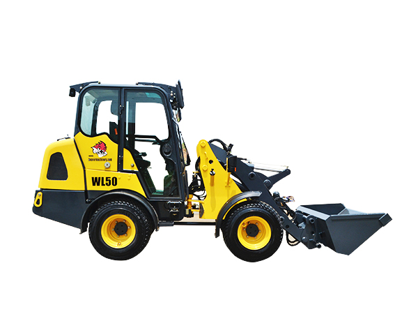 Articulated Mini Wheel Loader WL50