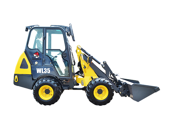 Articulated Mini Wheel Loader WL35